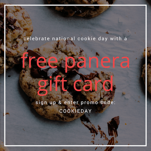 Celebrate National Cookie Day with Bitmo & Panera Bread