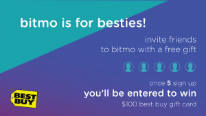 Share Bitmo for a chance to win!